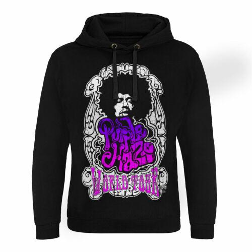 Purple Haze World Tour Epic Hoodie S-XXL Sizes Officially Licensed Jimi Hendrix