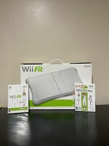 Nintendo Wii Fit plus, wii fit Game and Wii Balance Board Bundle