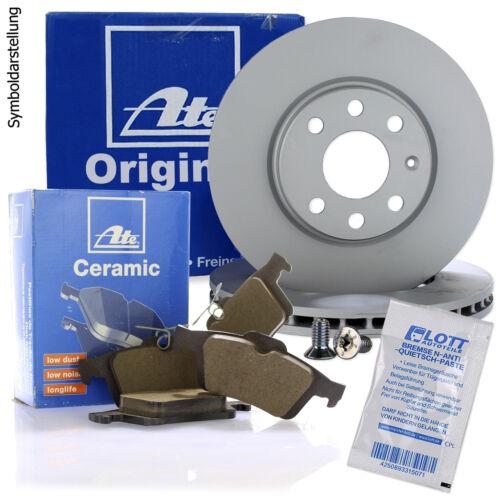 2x ATE Bremsscheiben Ø280mm ATE Ceramic Beläge vorne Renault Megane 3 Scenic 3