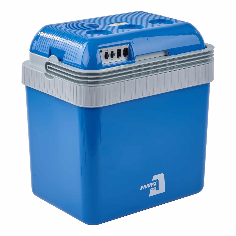 Elektro Kühlbox Priopa 24 Liter Camping Kühltasche Wärmefunktion 12V / 230V Volt