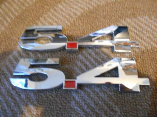FORD MUSTANG SHELBY GT500 F150 EXPEDITION HOT ROD 5.4L FENDER EMBLEMS PAIR CHROM