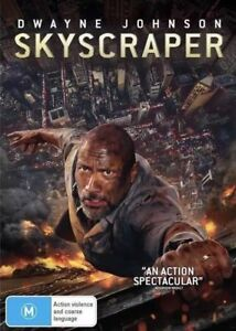 Skyscraper-DVD-Australian-stock-Region-4-Brand-new-sealed