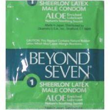 12 Okamoto Beyond Seven Aloe Condoms