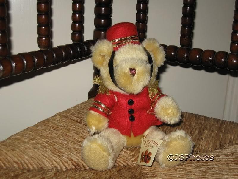 Teddy Bear Collection UK Barney the Bellboy Handmade