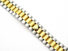 20mm S/S GOLD PLATED PRESIDENT BRACELET FOR ROLEX DATE JUST 116233 UK STOCK