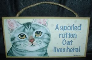 Grey-Tabby-A-Spoiled-Rotten-Cat-Lives-Here-Wooden-Plaque