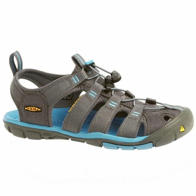 9829fbc0a938 Keen Clearwater CNX Gargoyle Norse Blue Womens Outdoor Walking Sandals Shoes