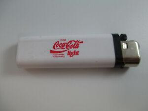 Coca-Cola-Light-White-Lighter-Trink-Coca-Cola-Logo-German-Authentic-Original