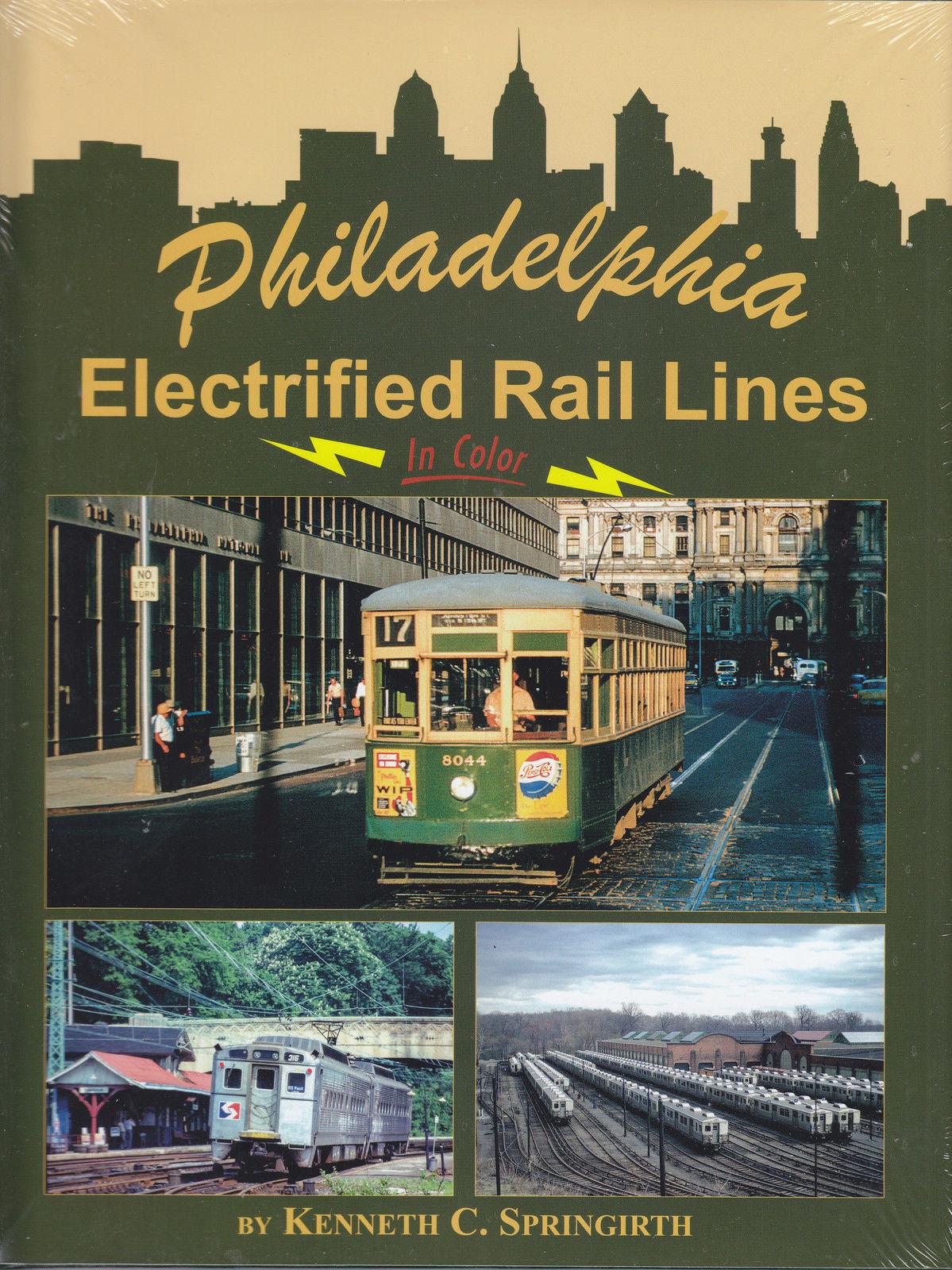 Philadelphia Electrified Fili in Colore  Nuovo Libro