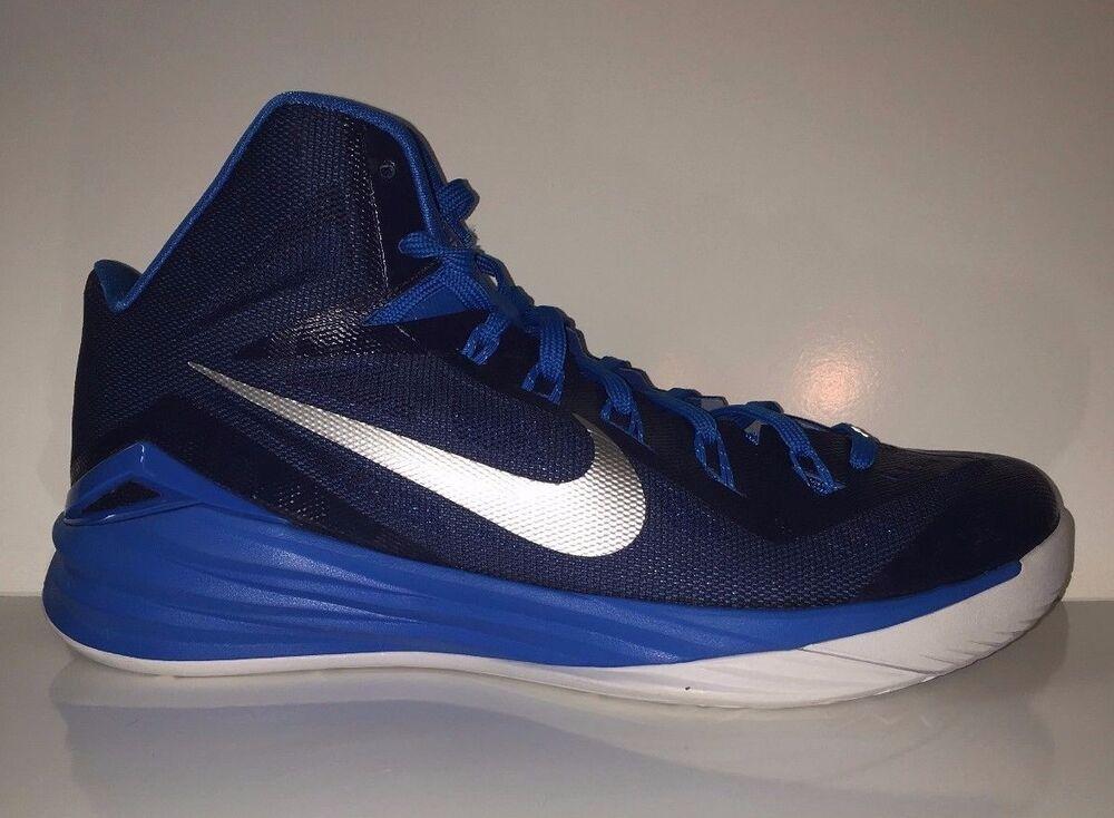 NEW Nike Femme Hyperdunk Bleu 653484-403 Basketball Sneakers chaussures Sz 12.5
