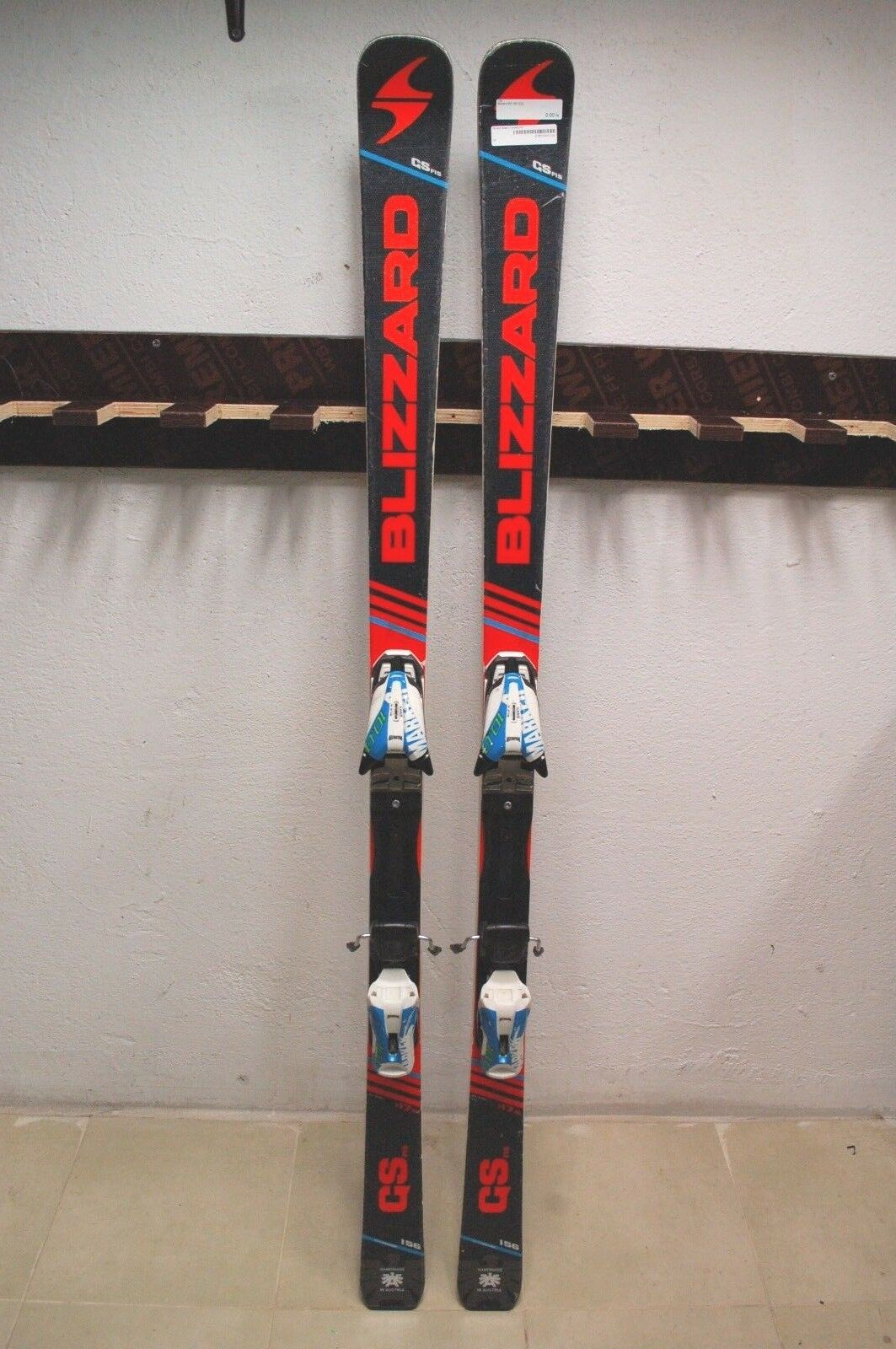 Blizzard GS FIS 156 cm Ski + Marker Comp 10.0 Bindings