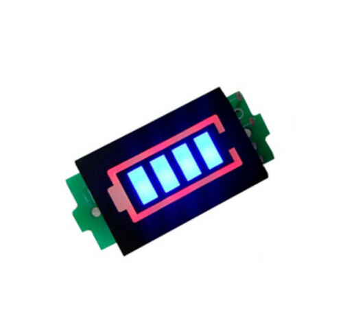 Lithium Battery Capacity Indicator Module Blue Display Electric Vehicle Tester