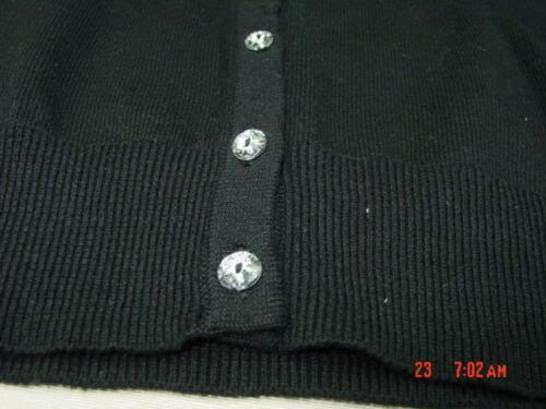 NWT Infant Toddler Girls Black Cardigan Sweater Healthtex Cute Warm Fashion Top