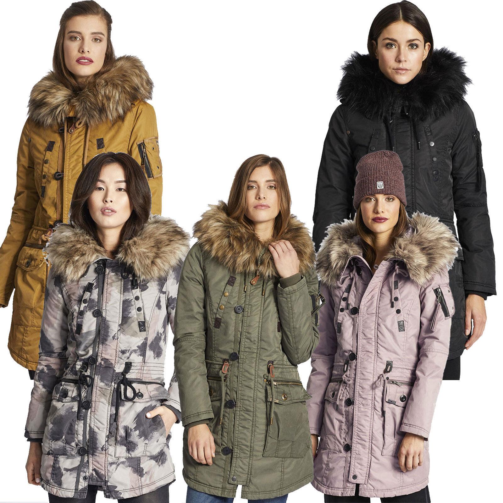 Khujo Hall Jacket manteaux pour femmes - Short d hiver