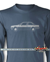 Bmw 318i Coupe E30 Series 3 Long Sleeves T-shirt - Multiple Colors And Sizes