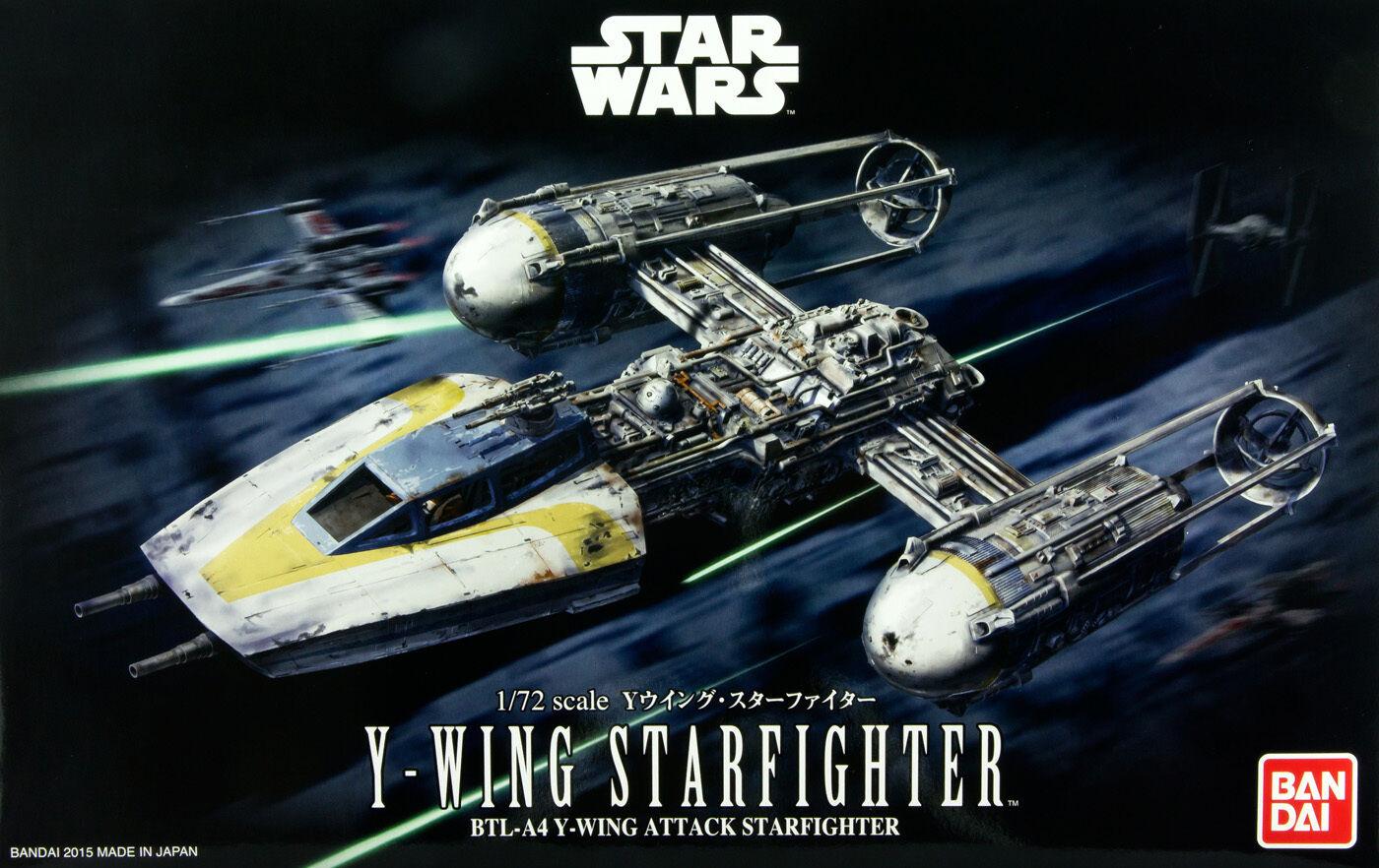 Star Wars Episode IV 1 144 Scale Y-Wing Model Kit BAN196694