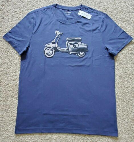 New Mens Banana Republic Short Sleeve Graphic T-Shirt Crew Neck