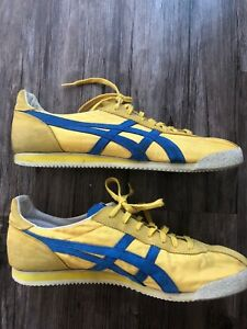 premium selection 920f0 63c9d Details about Asics ONITSUKA TIGER CORSAIR Yellow/Blue Men's Size 14  Athletic Shoes D321N
