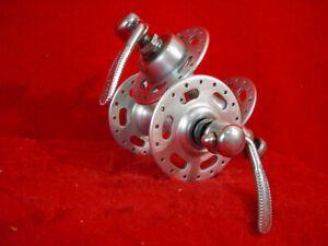 Normandy-Hub-Set-High-Flange-Front-Rear-Maillard-Atom-Quick-Release-Used