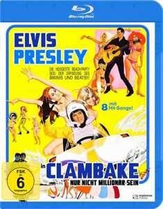 Non-solo-essere-milionario-Clambake-1967-Blu-Ray-Nuovo-Scatola-Originale-con-Elvis-Presley