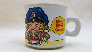 Campbells-Kids-Mm-Mm-Good-Blonde-Girl-Child-1993-Westwood-Ceramic-Soup-Cup-Mug