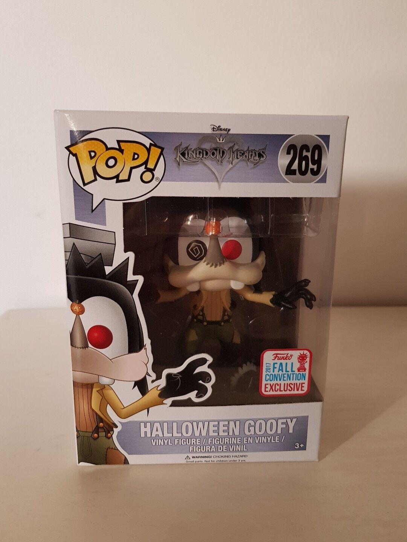 Pop  Kingdom Hearts - Halloween Goofy Fall convention 2017 ex
