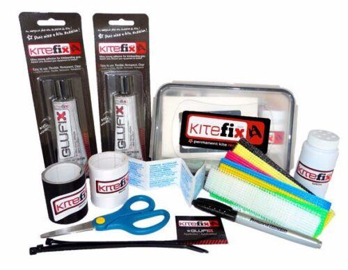 Kitefix Complete kiteboard /& kitesurfing Repair Kit NEW