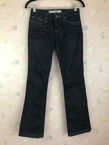 Joes-Provocateur-Womens-Blue-Jeans-Size-25-Beatrice-Wash-Low-Rise-Boot-Cut-FLAWS
