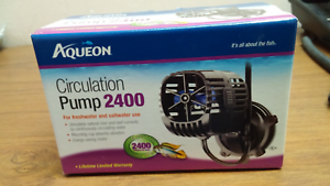 Fish & Aquariums 13.9w Delaying Senility Aggressive Aqueon 2400 Circulation Aquarium Pump