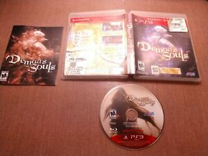 Sony-PlayStation-3-PS3-CIB-Tested-Demon-039-s-Souls-Ships-Fast