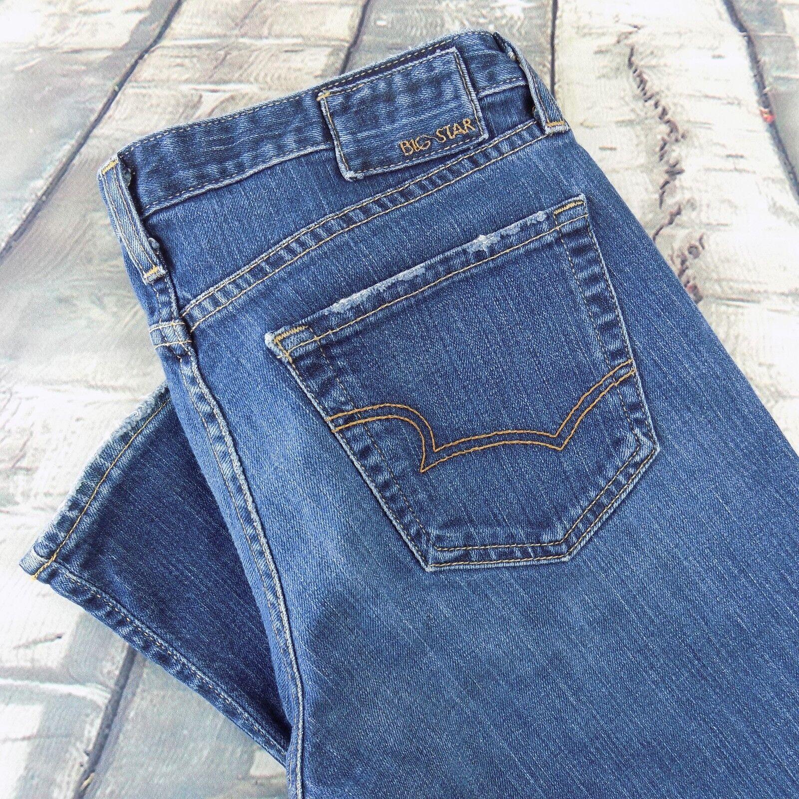 Big Star Jeans Size 29 R Women's Mia Bootcut Sz 29 33