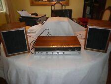 Vintage Panasonic RE-7670 AM / FM  Stereo Receiver Phono Amplifier Amp +_SPEAKES