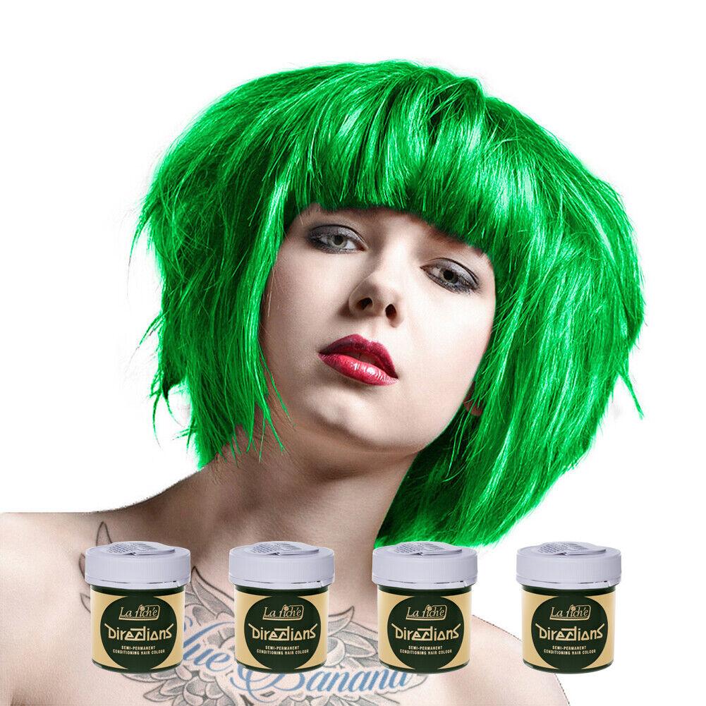 s l1600 - Tinte Capilar La Riche Directions Pack 4 Botes Coloración Tonos Vivos Y Pastel