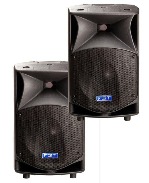 FBT ProMaxx 10 Speakers (PAIR) neodymium B&C drivers passive speaker cabinets