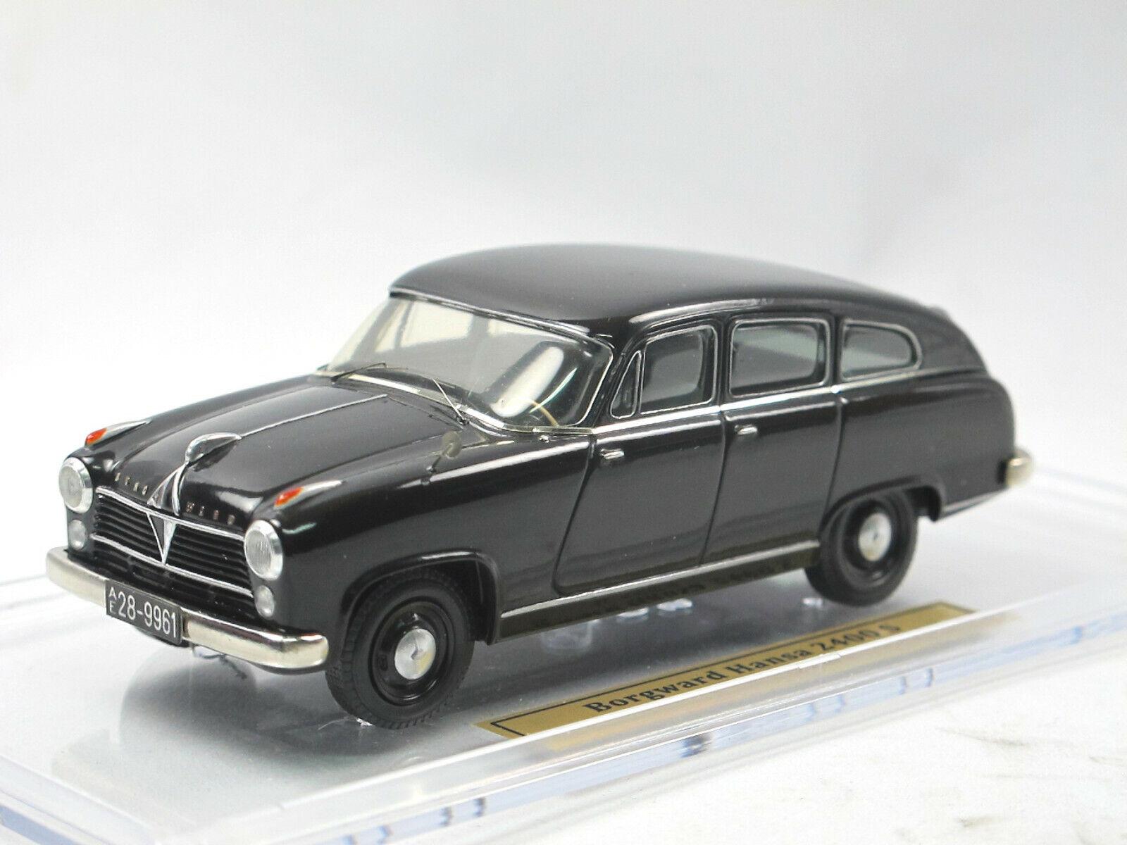mejor precio EMC EMC EMC Models - 1952 Borgward hansa 2400 s berlina sedán-negro - 1 43  compra limitada