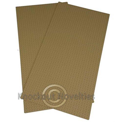 2 Pc 56X28 Tan Baseplates