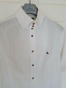 Mens-VIVIENNE-WESTWOOD-short-sleeve-shirt-size-V-large-Immaculate-RRP-260