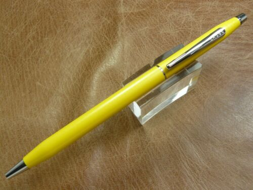 CROSS CENTURY AQUATIC YELLOW TWIST ACTION BALLPOINT PEN BRAND NEW IN BOX