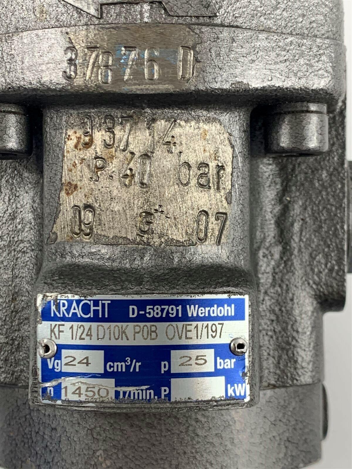 KRACHT Kf 1/24d10k P0b Ove1/197 Gear Pump