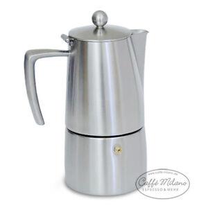 ILSA Slancio Espressokocher - Herdkocher Caffetiere 4 Tassen matt - Caffe Milano