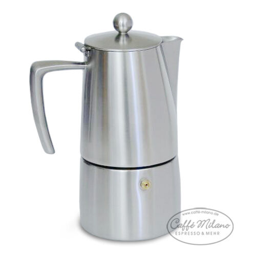 Ilsa slancio Espresso réchaud-herdkocher Caffetiere 4 tasses Matt-Caffe Milano