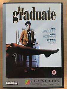 dustin hoffman anne bancroft the graduate 1967 classic uk dvd