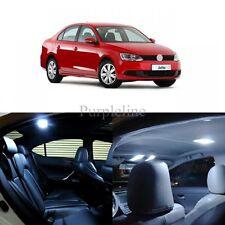 13 x Xenon White LED Interior Light For 2011 - 2015 VW Volkswagen Jetta MK6