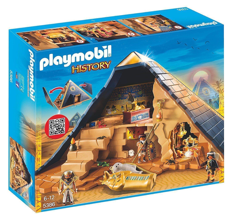 PLAYMOBIL HIstoria 5386  GReE PIRAMIDE DEL FARAONE - NUOVO  ecco l'ultimo