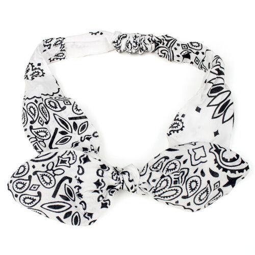 Headband Knot  Hair  Bands  Headwrap  Cross  Bow  Tie  Girls  Cloth  Twist