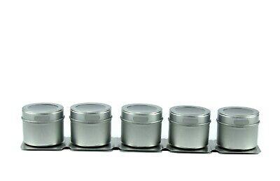 Kamenstein Stainless Steel 5-Tin Magnetic Strip Multipurpose Rack