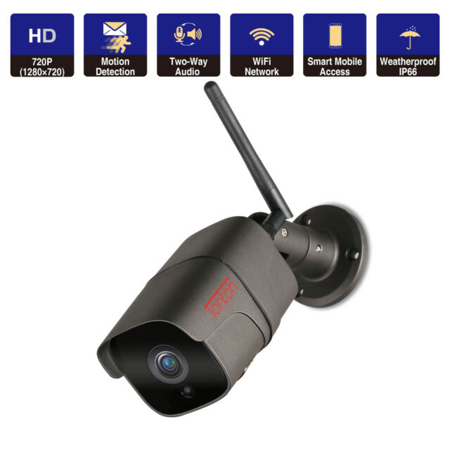 Tonton 1080P Wireless IP Camera WIFI Outdoor Security HD IR Night Network Motion
