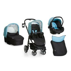 Hauck-Lacrosse-All-in-One-Travel-System-Aqua-Includes-Carrycot-amp-Car-Seat
