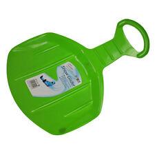 WINTER Essentials ROUND Assolo MINI SLITTA SLEDGE PLASTICA NEVE Glider-Verde