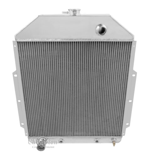 2 Row WR Champion Radiator for 1942-1952 Ford Truck Ford Configuration